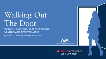 Red Bee Principals Publish Groundbreaking ABA/ALM Study of Long-Term Careers for Women Lawyers