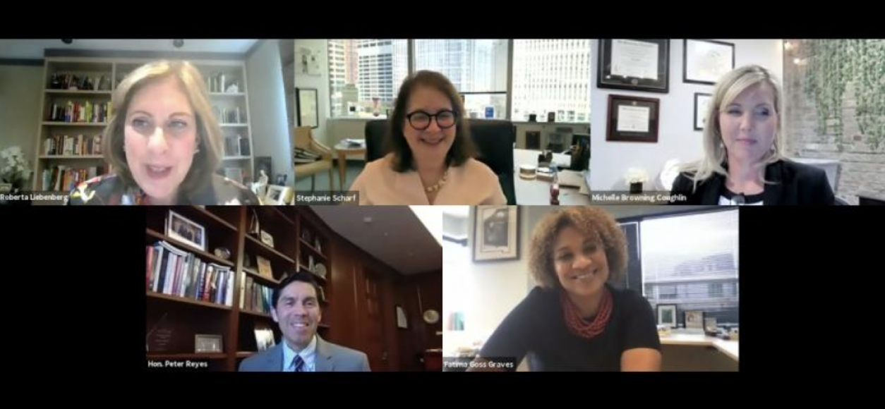Red Bees Participate in Webinar on Motherhood Penalty and Caregiver Bias